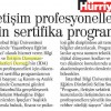 İletişim Profesyonelleri için Sertifika Programı